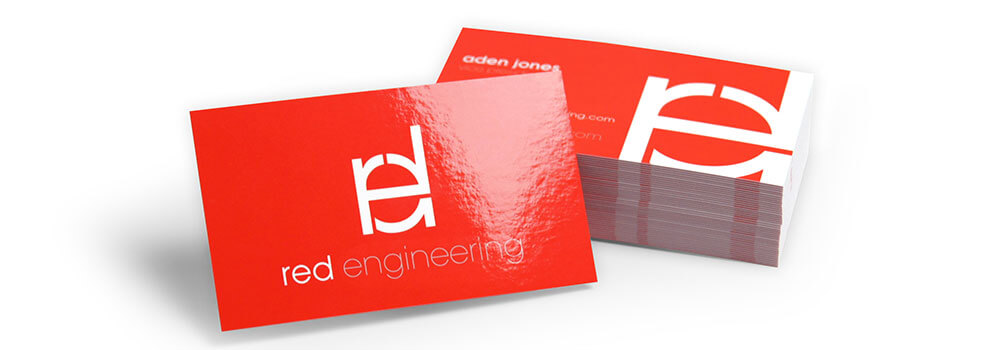 We're excited to announce our new product; 22PT gloss laminated business card and 22PT gloss laminated postcard. Our new gloss laminated cards are printed on thick 16PT C2S card stock before receiving a super glossy 3 mil lamination that brings the total thickness of this card to 22PT!