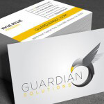 A recent customer came to us with a need for a logo. They are a new company called Guardian Solutions who offer financial planning, located in Atlanta.