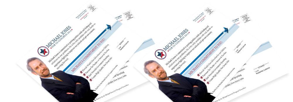 Political EDDM® Postcards Printed by Primoprint