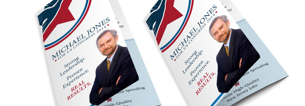 Political Brochures Printed by Primoprint