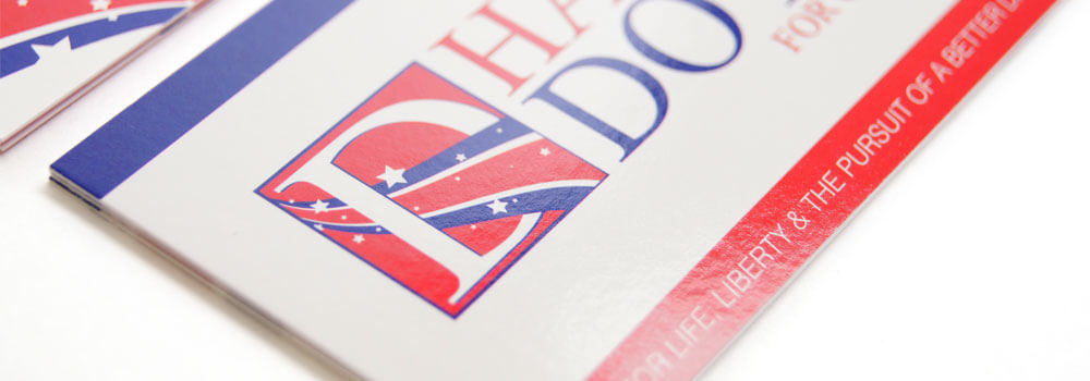 Political Business Cards Printed by Primo Print