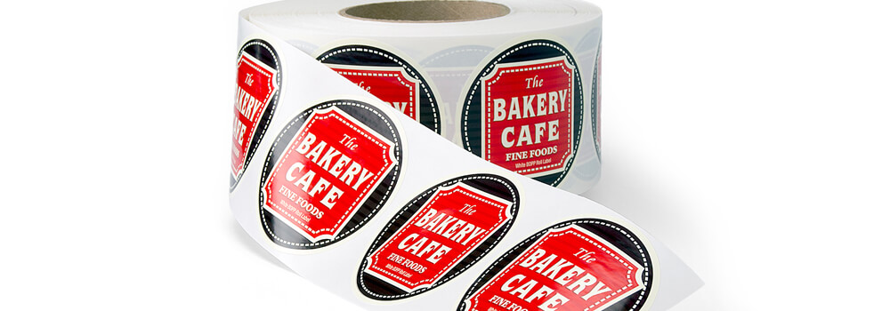 These roll labels have a specific adhesive that enables you to easily to apply and remove from surfaces without leaving any residue.