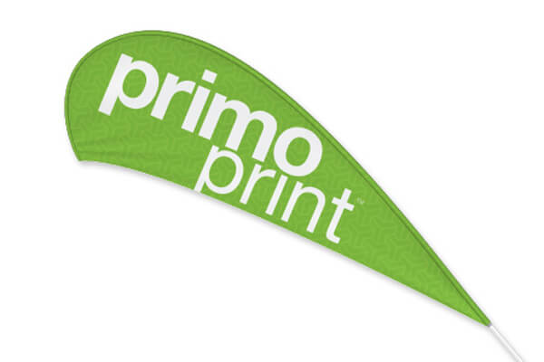 Teardrop Flag Printed by Primo Print
