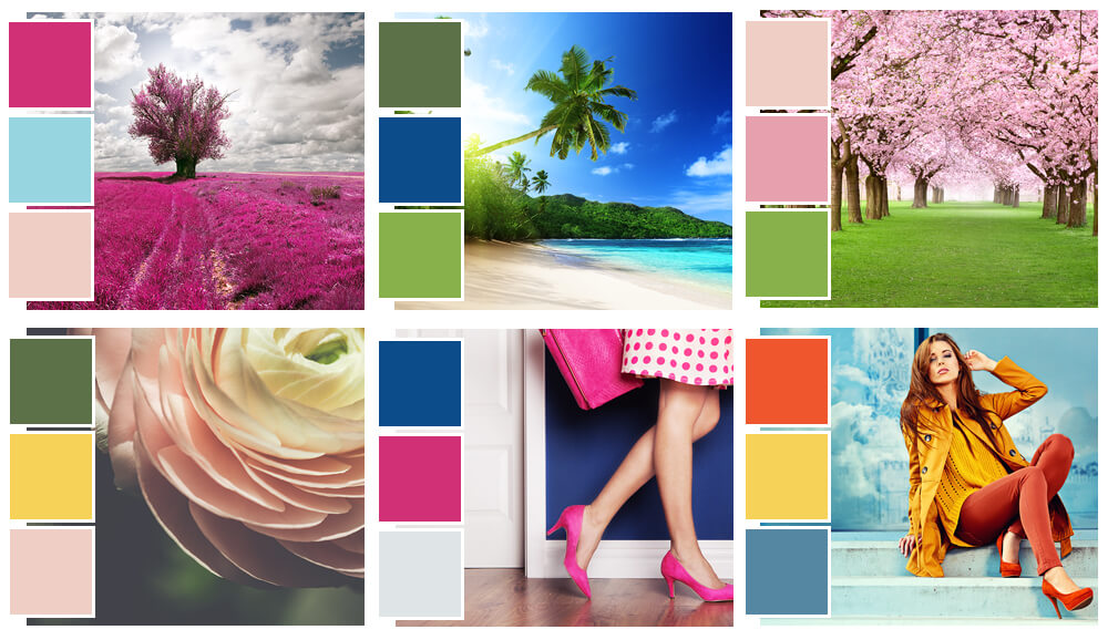 Pantone Spring Color Swatches