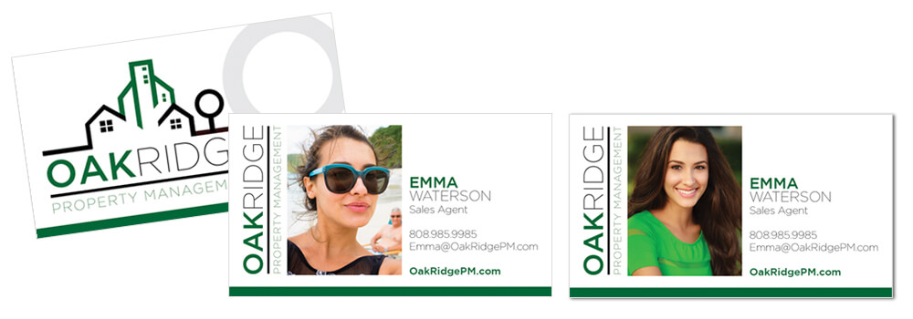 Use Professional Photos on Business Cards