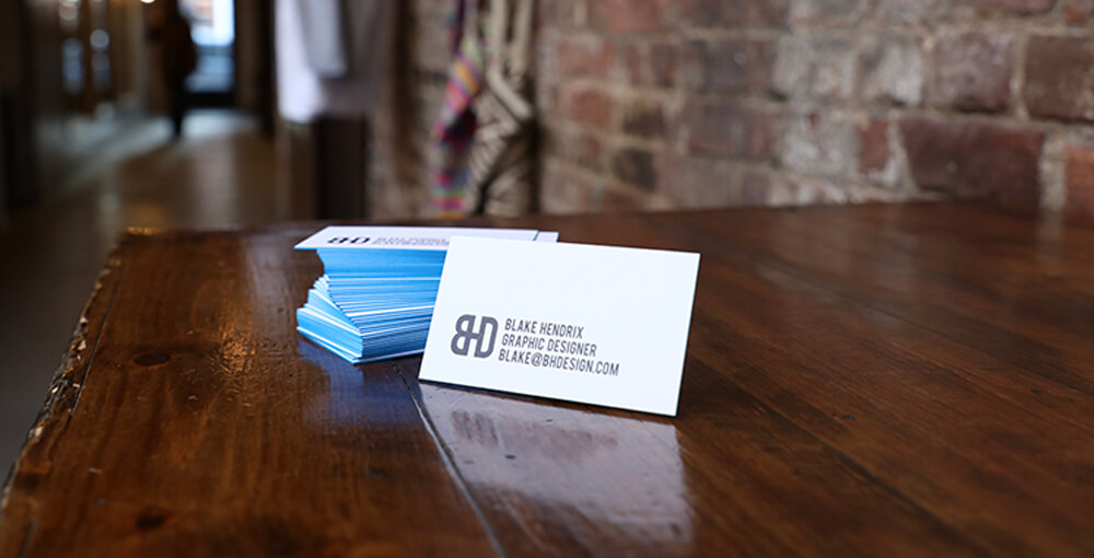 Take a look at these helpful tips on how to design an effective business card.