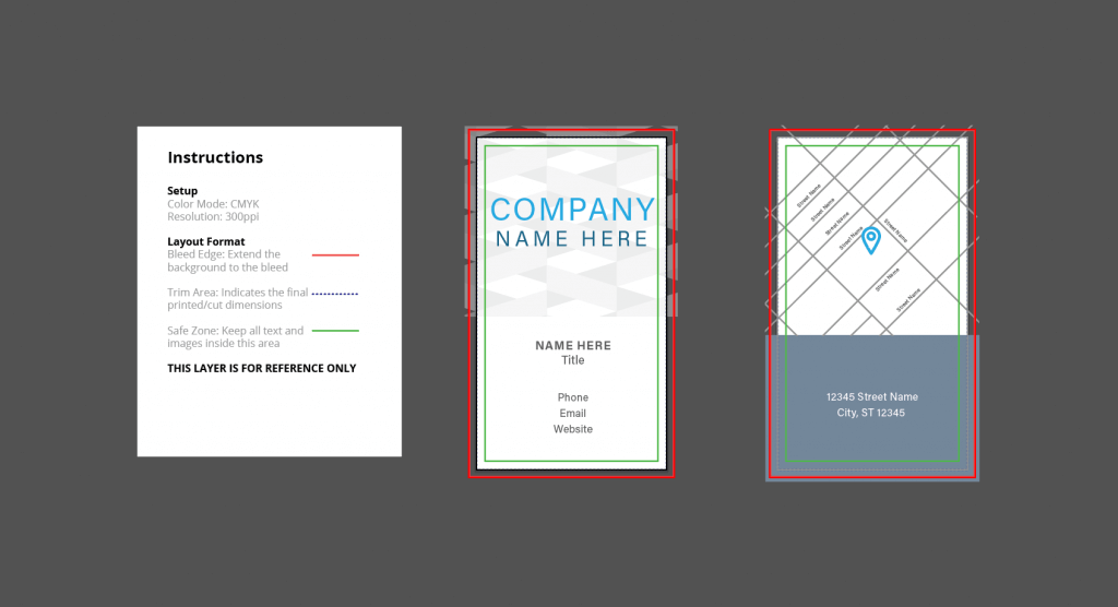 Free Simple Business Cards Design