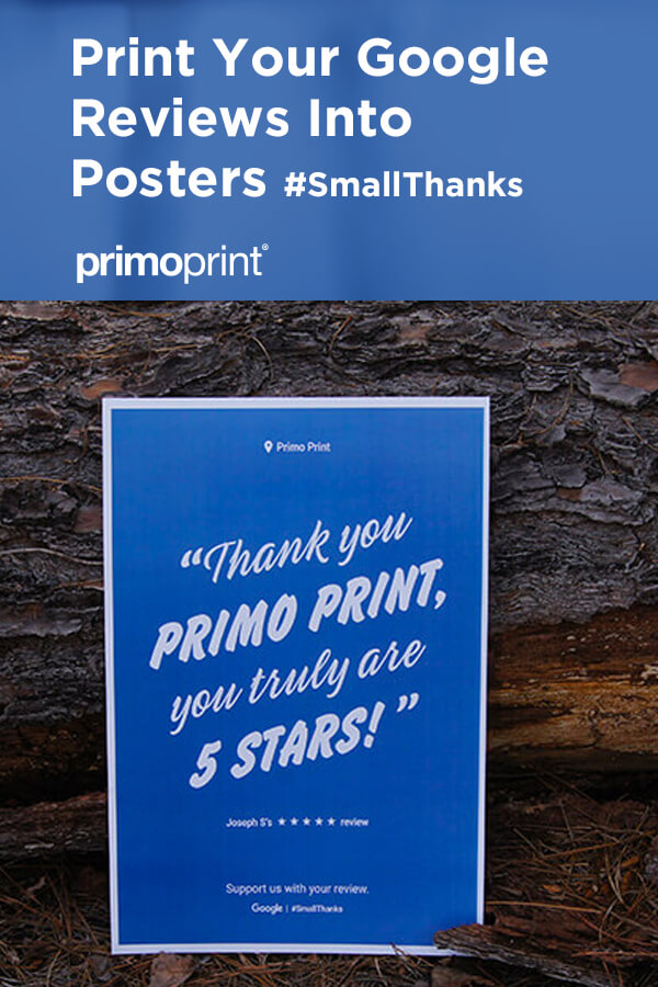 Google has launched a new way to promote your local business with your best Google reviews from customers. Find out how to create your own Google posters.