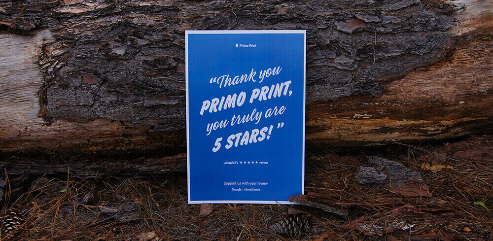 Print your Google Posters. Put Your Google Reviews in front of Customers.