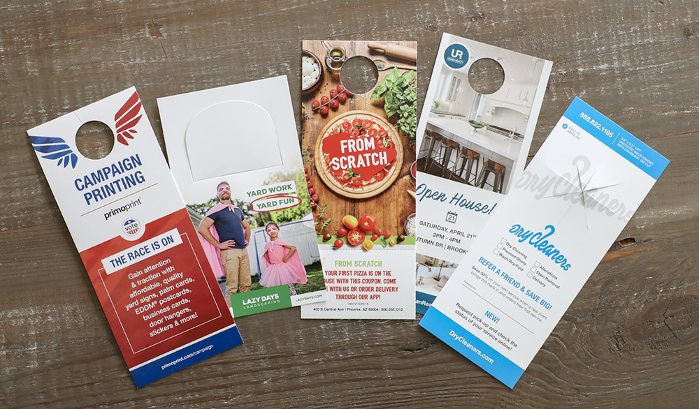 How to Advertise with Door Hangers + Free Samples | Primoprint Blog