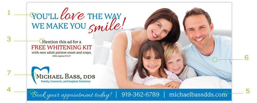 We've listed 9 design tips to make sure your EDDM® postcard is a success.