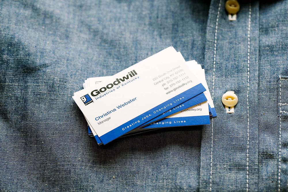 Trusted brand trust the quality of Primoprint's custom business cards.