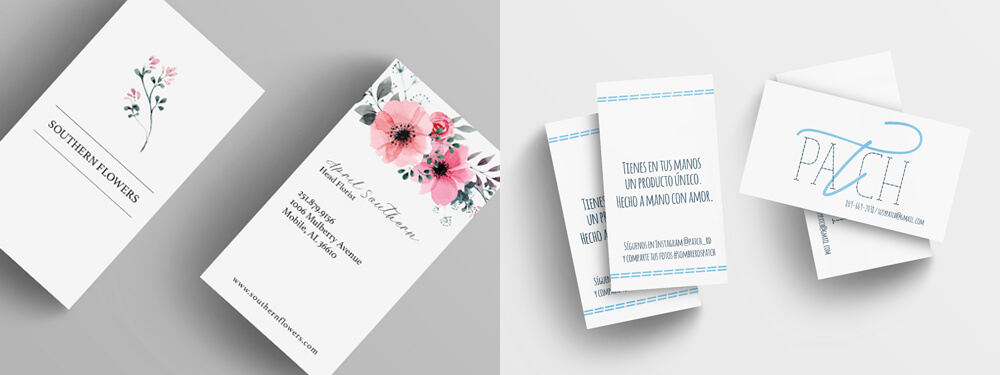 Beautiful custom business card designs