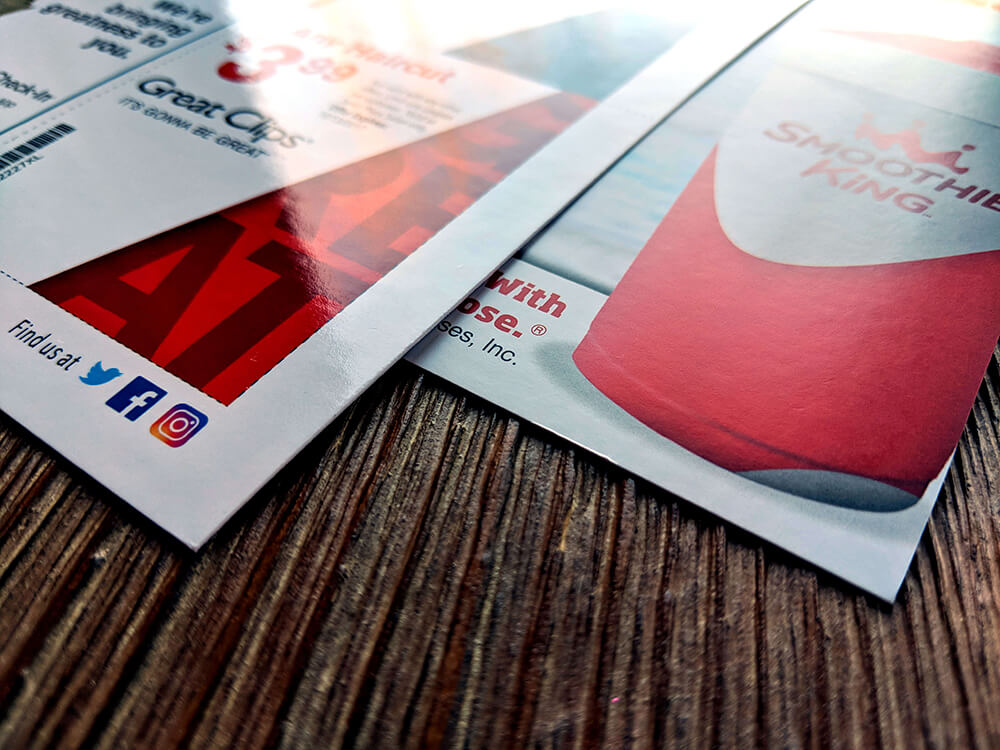 Matte and Glossy UV are our most popular finishes for EDDM® and postcard marketing.