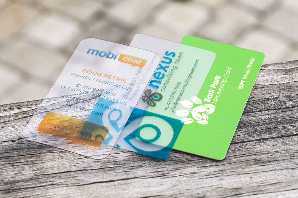 Plastic Business Cards; Why You Need Them | Primoprint Blog