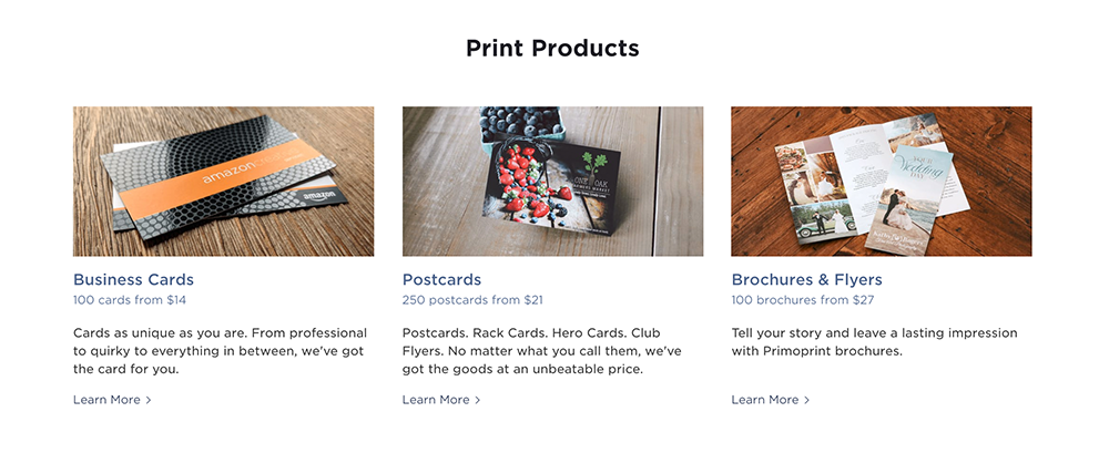 We've created a new page to give you the ability to shop all of our products from one place.