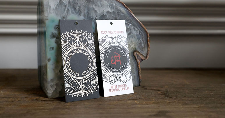 Your website is your shop's digital welcome mat. But what about custom hang tags on your products?
