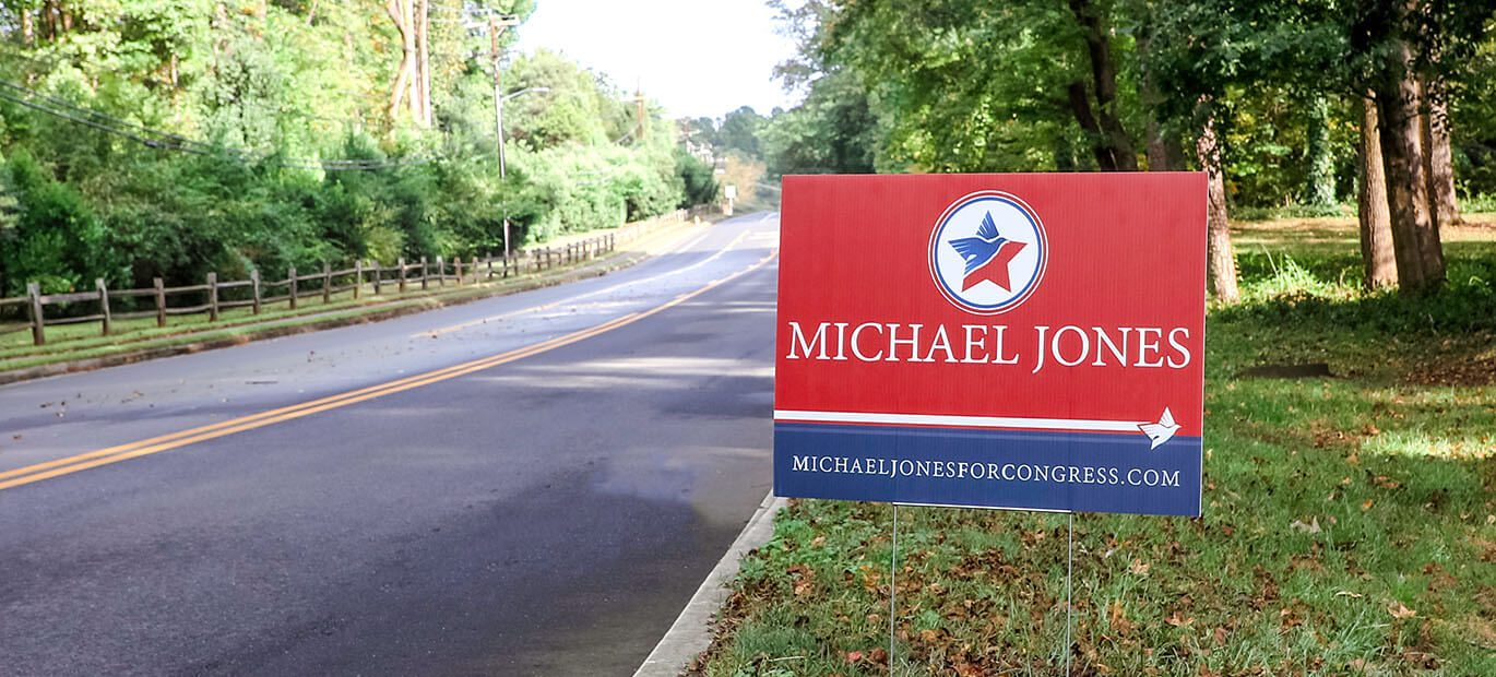 Here are the most helpful tips we've found to help you understand why political yard signs work and how to get going on your next campaign sign project.