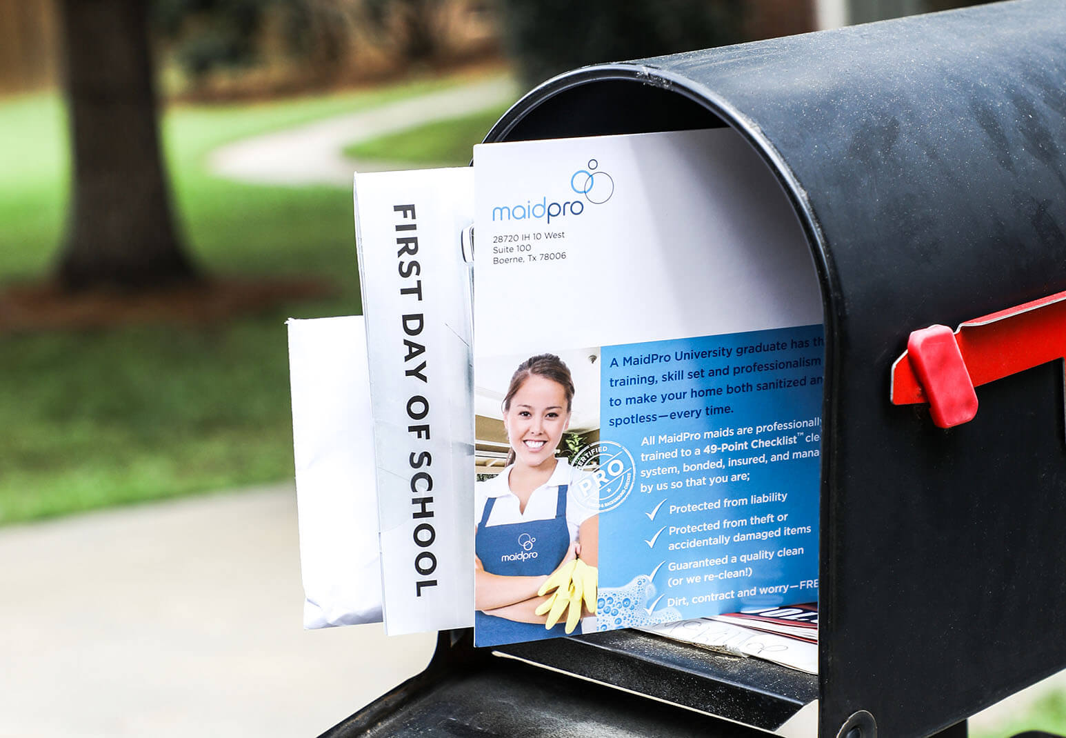 MaidPro uses Every Door Direct Mail to reach new and potential customers.