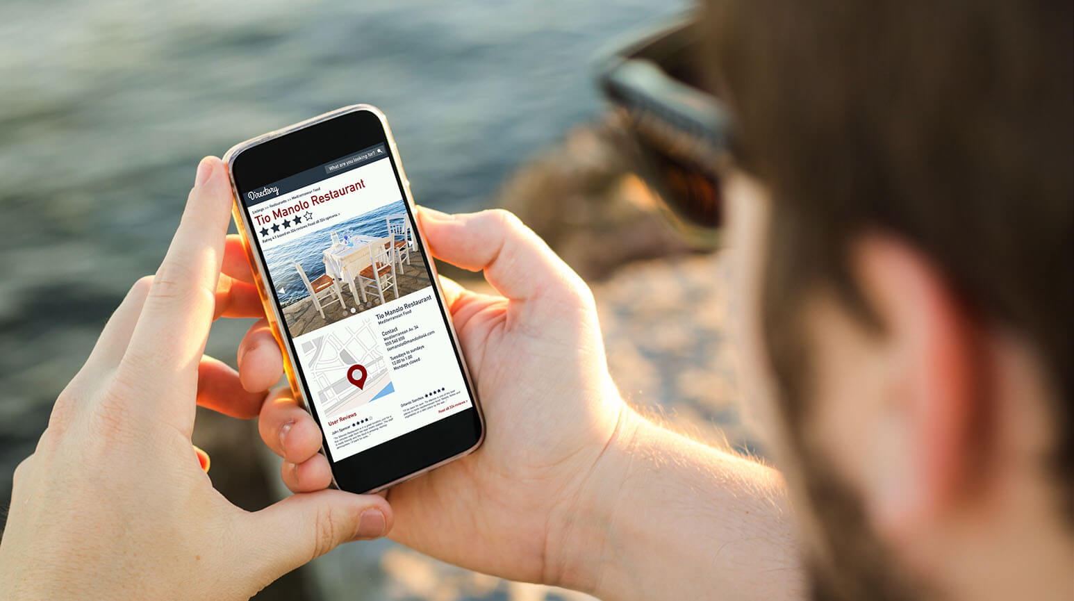 Make sure that your restaurant is listed on apps (Yelp, Trip Advisor) so that people will see you when they're looking for a place to eat.