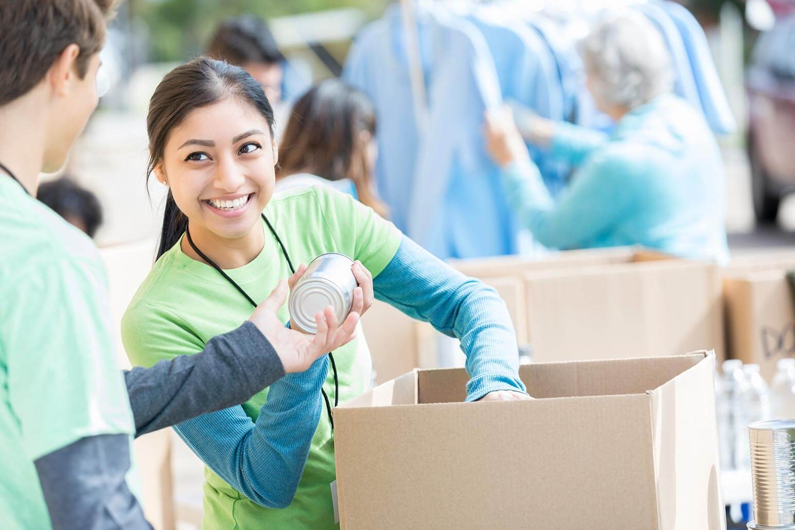 Employers widely consider volunteer experience as work experience, so if you have ever helped organize a food drive, volunteered for a charity or helped at an event, you might be able to put it on a resume.