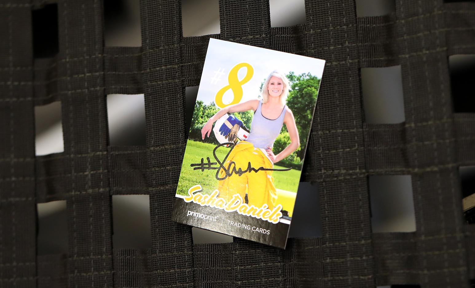 From race car drivers to baseball players, trading cards the perfect way to connect with fans, commemorate a season, or promote your sponsors and stats.