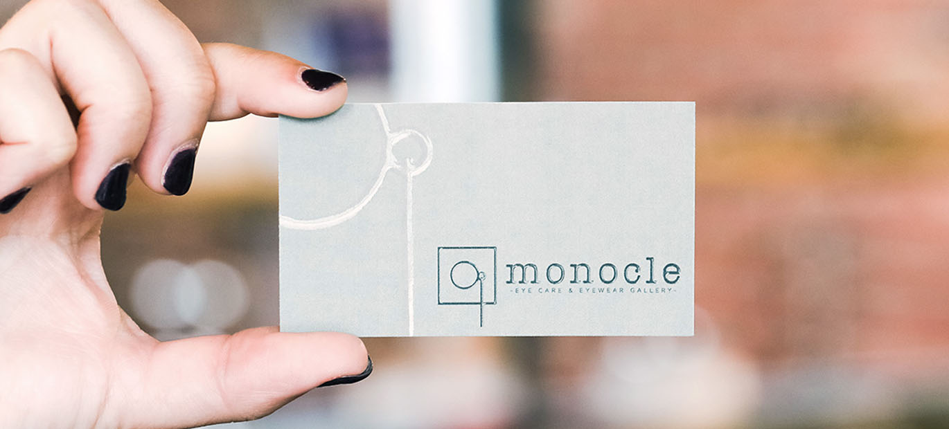 Graphic Design Feature: Monocle Eye Care & Eyewear Gallery