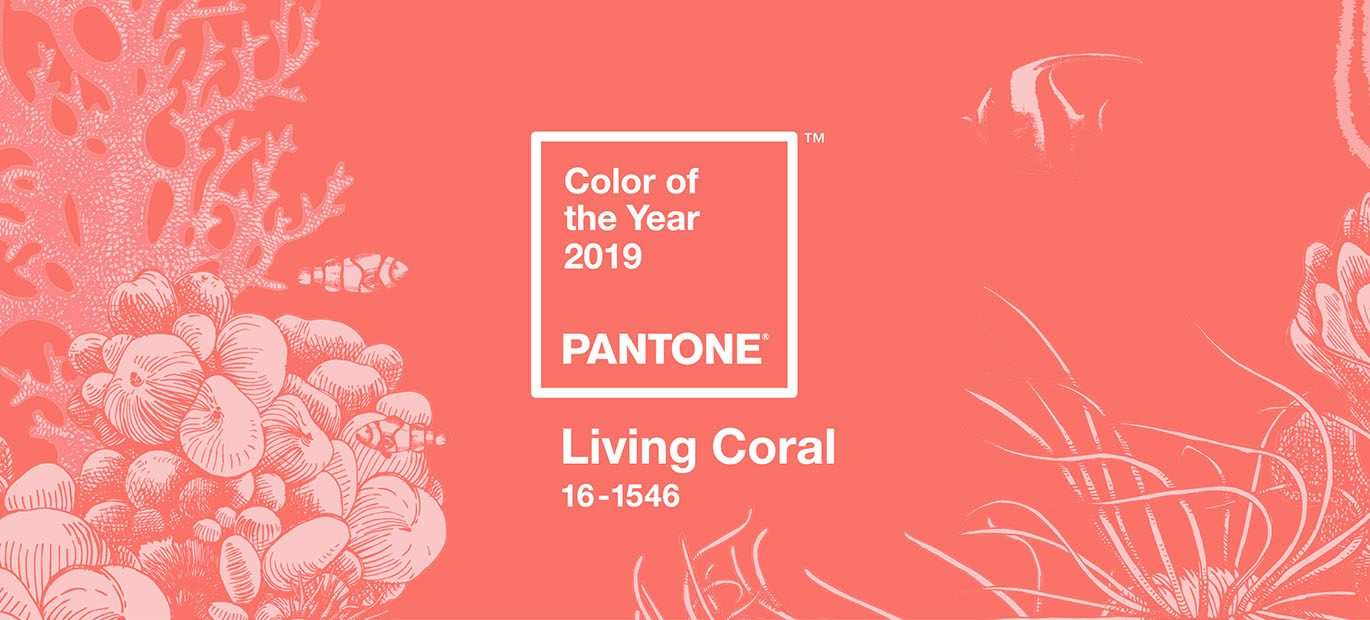 This years Pantone of the Year is Living Coral.