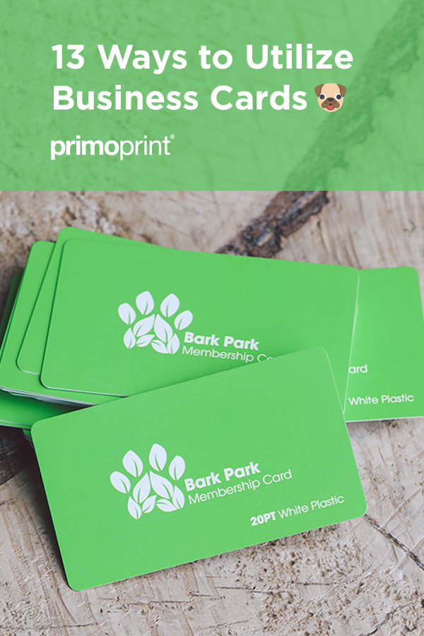 We list fun and creative ways on how you can utilize custom business cards.
