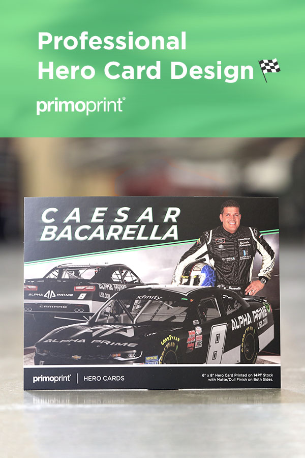 Looking for a custom Hero Card design? Find out how to get started with Primoprint.