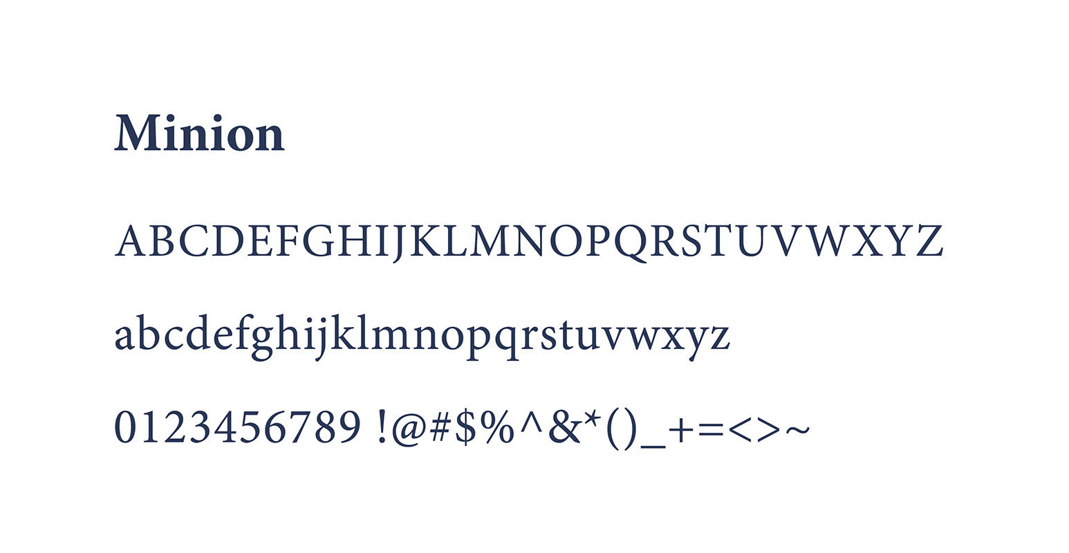 When it comes to legibility in print, it's hard to go wrong with Minion for body copy.