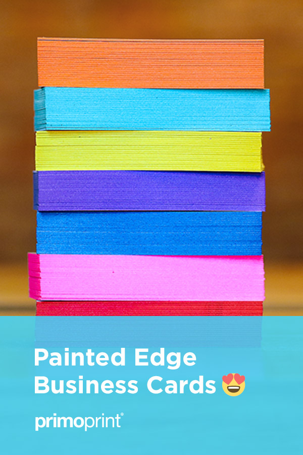 If you're looking for an extra-thick business card with an eye-catching edge, check out our painted edge business cards.