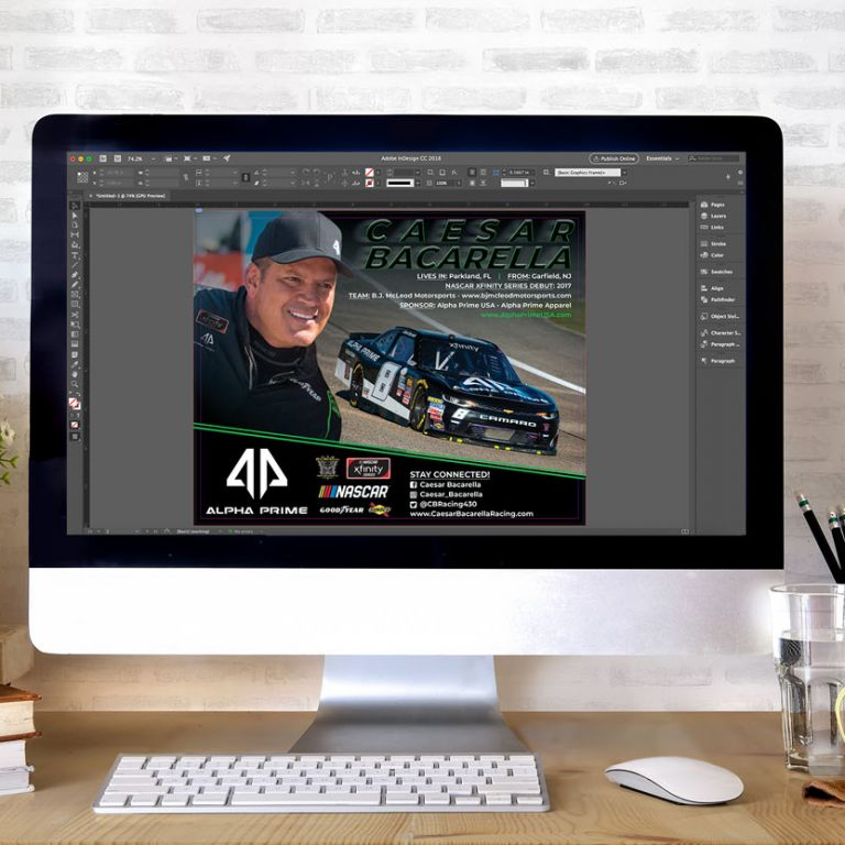 You'll work directly with our in-house U.S. based design team to create professional, custom hero cards.