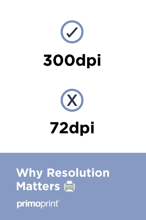 We look into the difference between 300dpi and 72dpi to help you understand which is the best resolution for print.