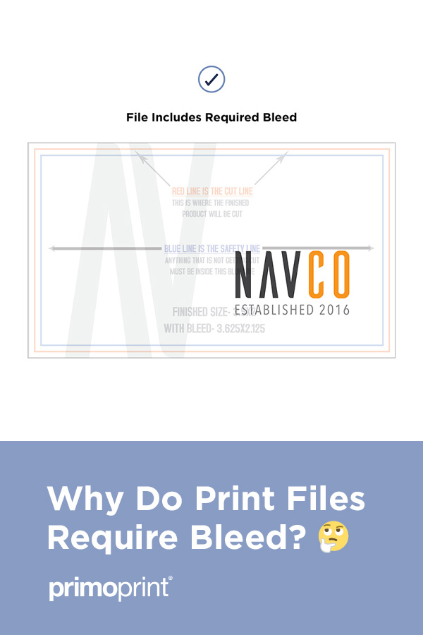 When it comes to print, the answer is to bleed. So what exactly is bleed, and why is it required to be included in your print files?
