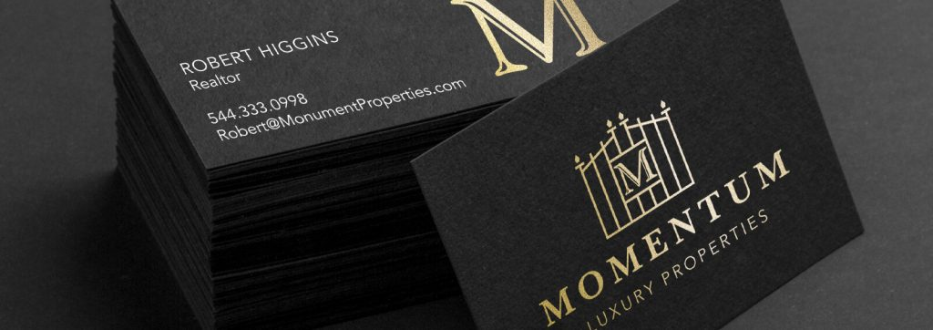 Turn heads with a premium Black Business Card
