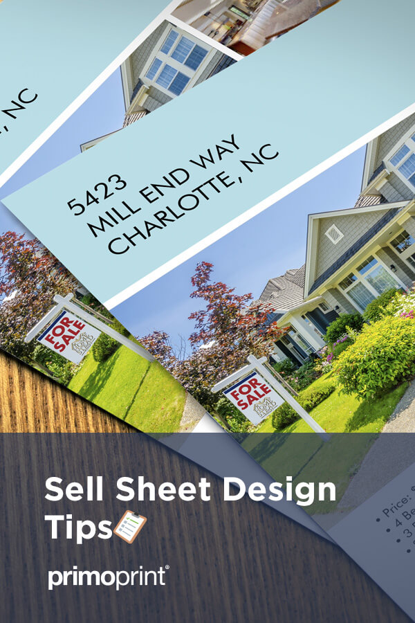 Sell sheets can be an essential marketing tool when you have something to sell. Take a look at these helpful design tips.