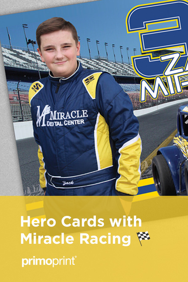 We'll discuss the hero card design process for Miracle Racing.