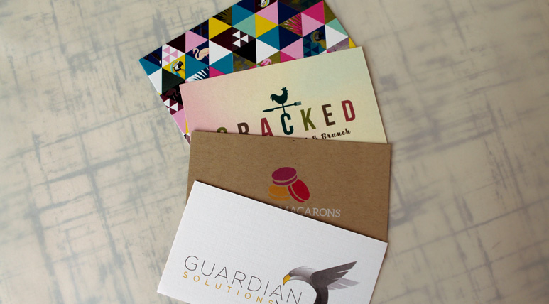 We offer a variety of card stock. Kraft, Linen, Natural, and more.