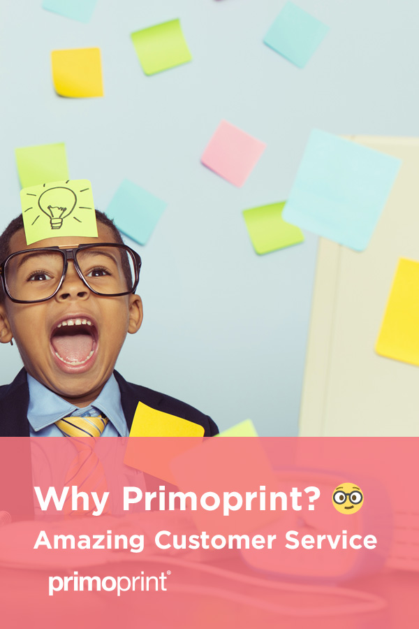 Learn more about Primoprint's customer service and their team.