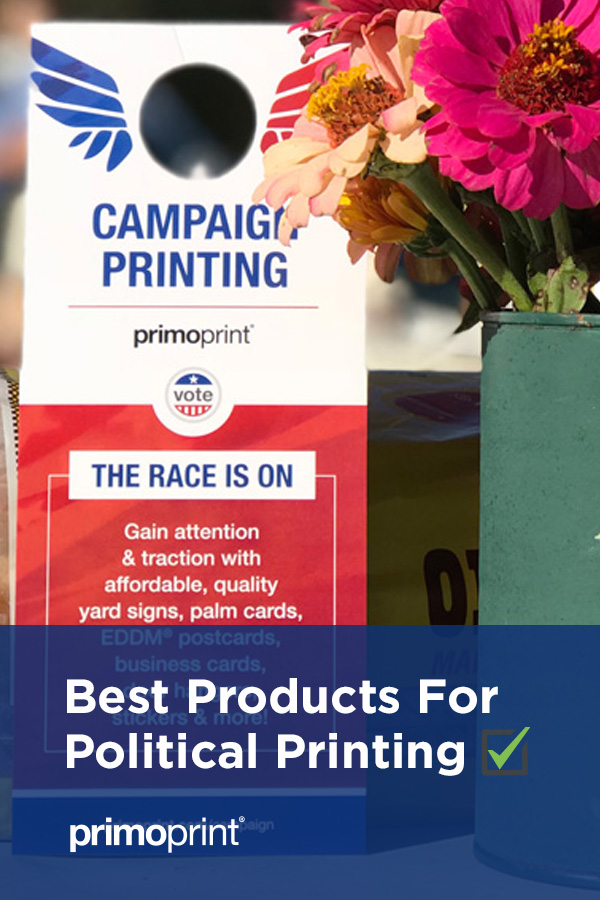 Find out which print products are recommended to reach new and potential voters.