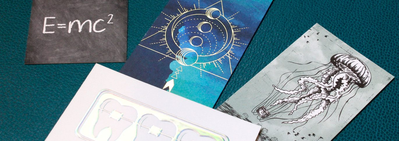 We list ten ways you can enhance your business cards. From rounded corners to a thick card stock.