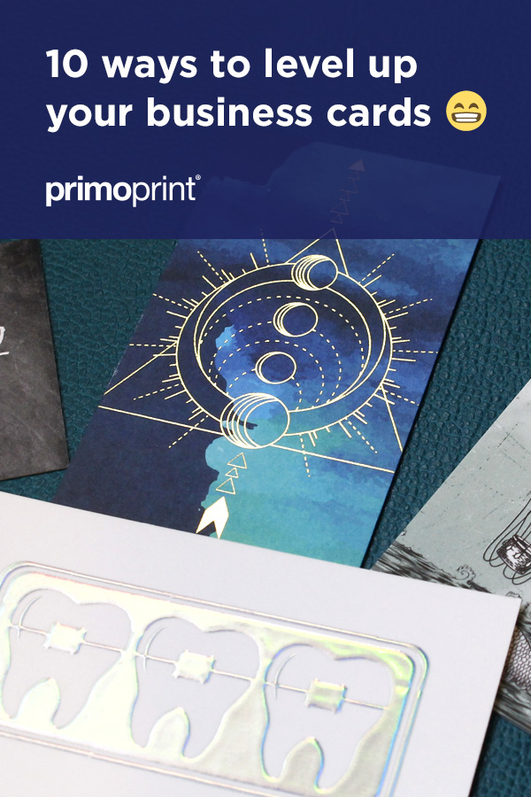 We've listed some popular recommendations and business card ideas to take your next card order to the next level.