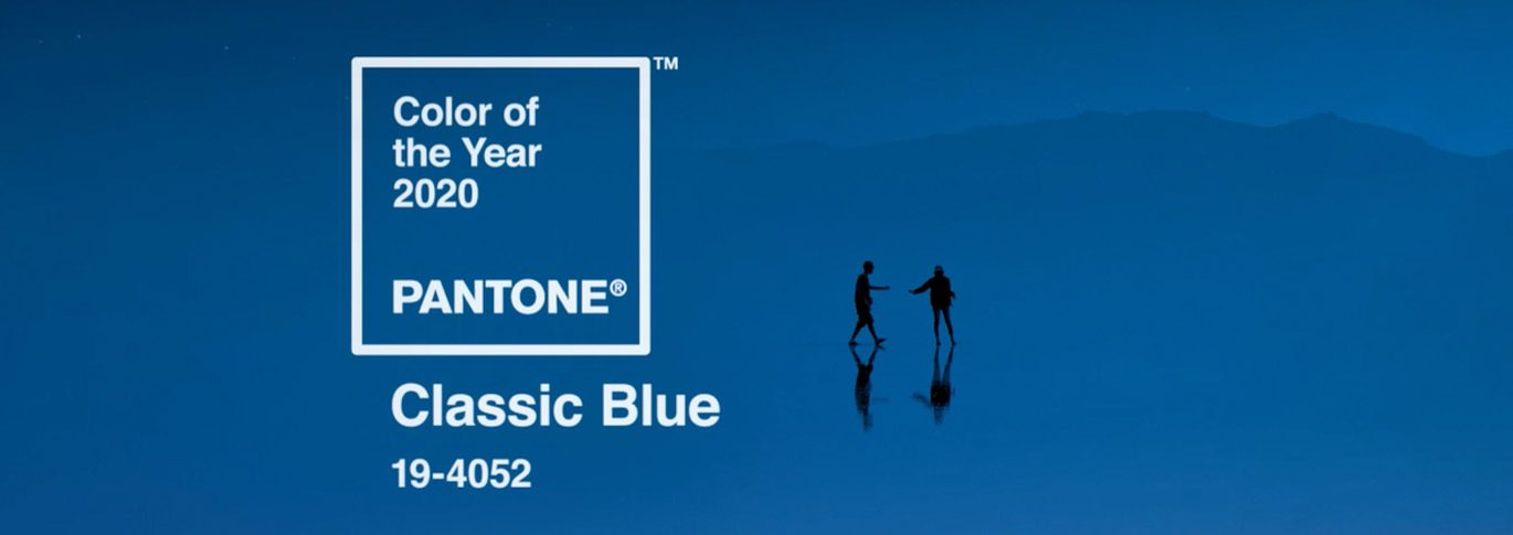 2020 Pantone Color of the Year is Classic Blue