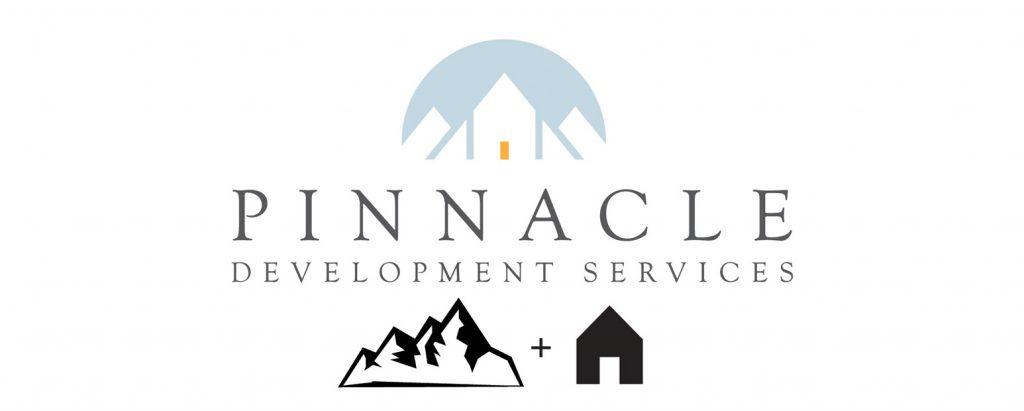 The third version of Pinnacle logo design process.