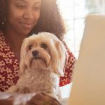 Take a look at the 7 benefits of working from home with pets.