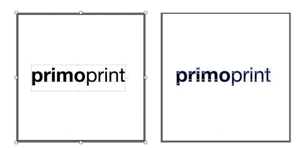 Outlining Fonts in Adobe Illustrator