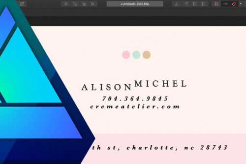 Learn how to create print ready files with Affinity Designer.
