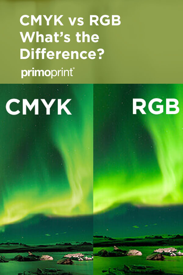 CMYK vs RGB. Which is best for print?
