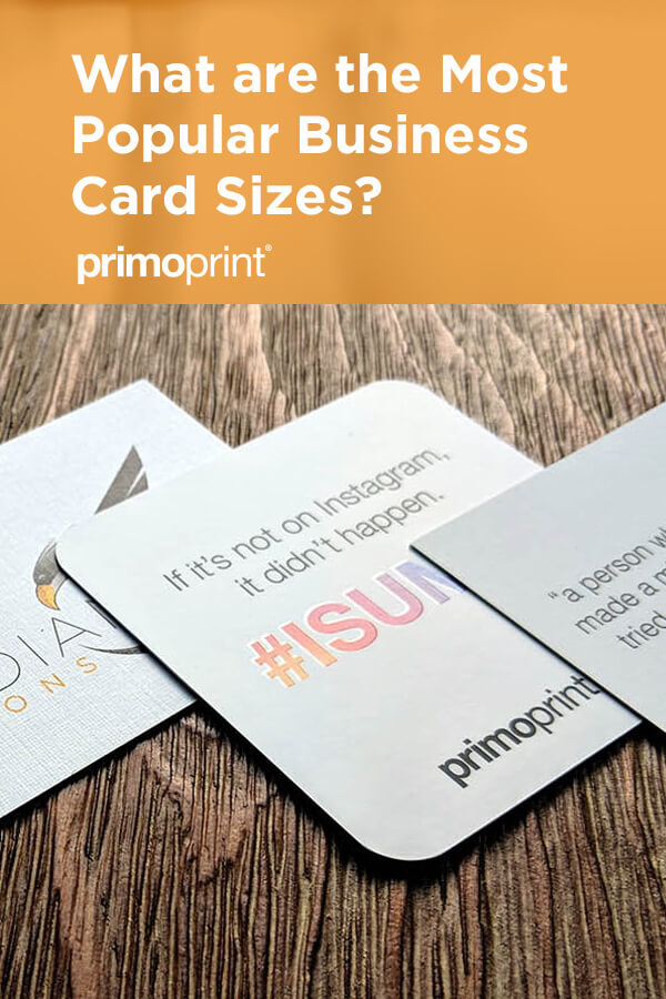 What is the average size of a business card? We break down the standard business card dimensions including Standard, European, Square, Mini, and other sizes.